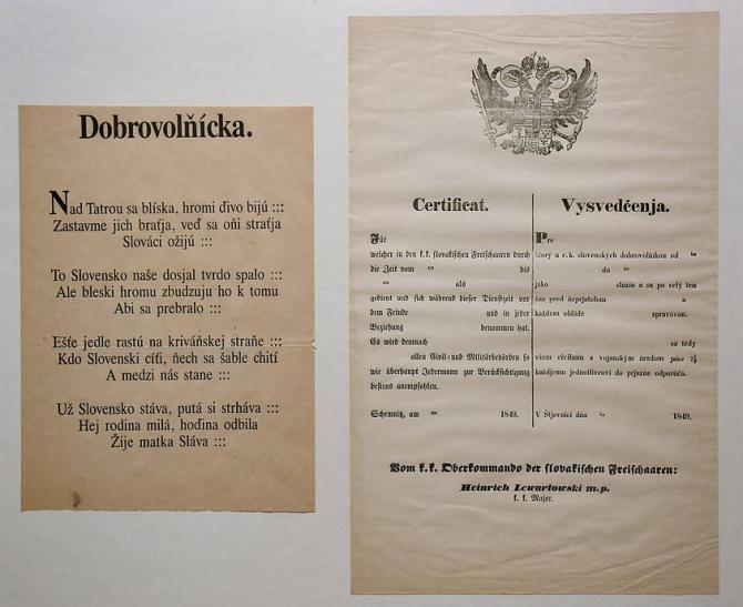 4_dobrovolnicka_a_certifikat_hurbanovskych_dobrovolnikov_listovky_z_meruosmych_rokov_-_faksimile_ivan_galambos.jpg