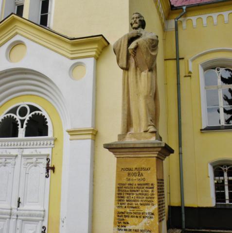 10_pollakova_socha_m._m._hodzu_pred_evanjelickym_kostolom_v_liptovskom_mikulasi._596x600.jpg