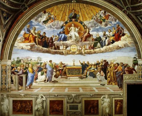 3_rafael_disputa_o_sviatosti_oltarnej_freska_1509_10_rafaelove_saly_vatinkanske_muzea.jpg